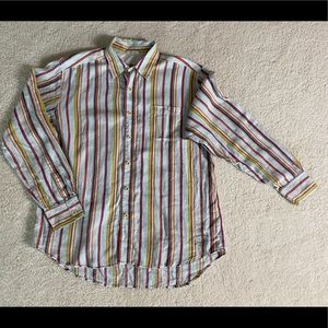 Tommy Bahama Linen Striped Shirt